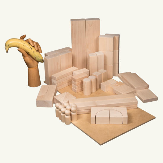 Picture of (BABA16) First Set of Childrens Blocks Age 4