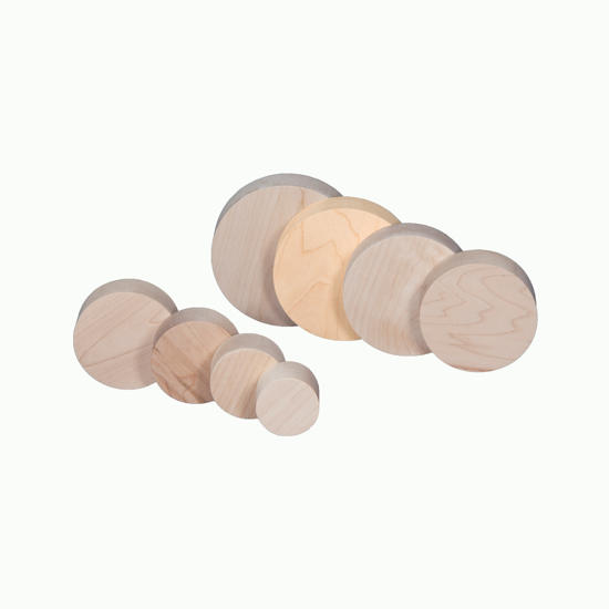 Picture of 5.0 by 1.375 inch  Maple circle/disk