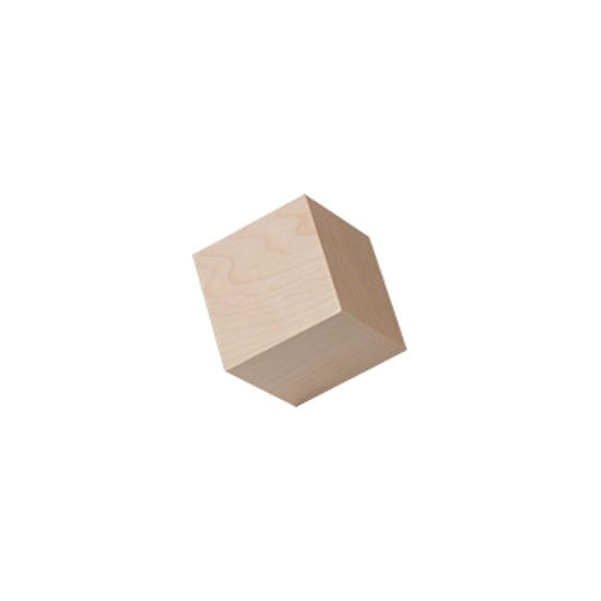Picture of 5/8 In. cubes for crafts.