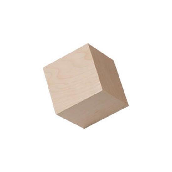 7/8ths wooden cubes