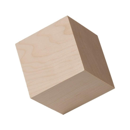 Picture of 2.25  (2-1/4) in. wood craft cubes