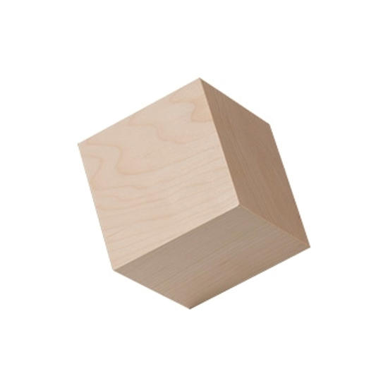 Picture of 3.0  (3) in. large wooden craft cubes