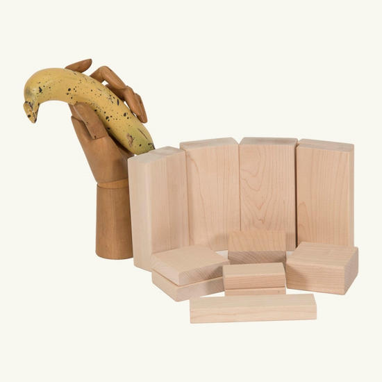 Picture of (DINB) Very Small Set of Wooden Building Blocks Age 3