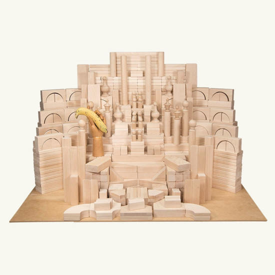Picture of (FAM) Family Set of Wooden Unit Blocks