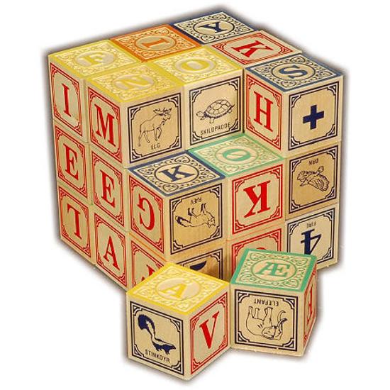 Picture of Danish ABC Blocks