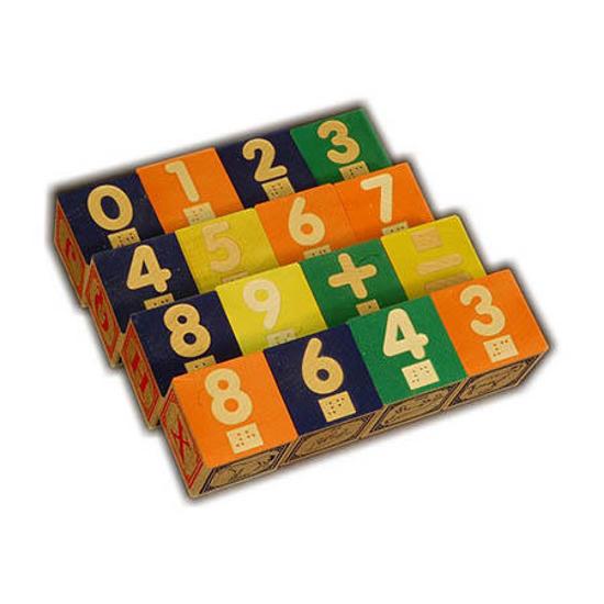 Braille Number Blocks